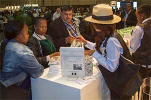 NBC exhibits at IRF 2014