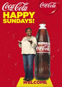 34 launches Happy Sundays for Coca-Cola