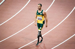 """The watchdog banned the Pistorius advert on the grounds it """"brought advertising into disrepute"""". (Image: Chris Eason, via Wikimedia Commons)"""