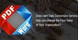 Data conversion has become need of the hour!