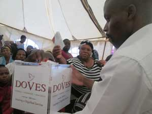 Doves activation takes flight