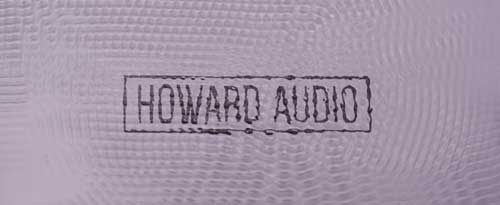 Say hello to Howard Audio