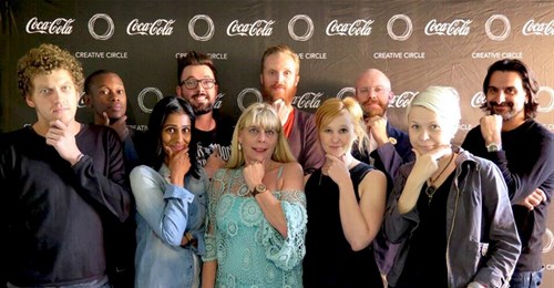 The Feb/March 2015 Creative Circle Awards judging panel