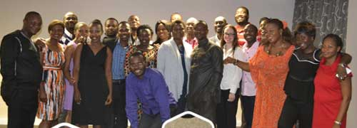 Delegates who attended the Professional Development Programme for the Next Generation African Library and Information Professionals during the first quarter of 2015.