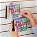Do-It Slot Hang Tabs - Vertical display, maximum visibility