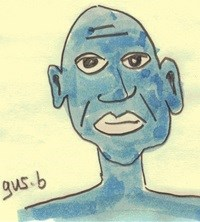 Gus B: One of Conn's drawings of a person he met during cancer treatment