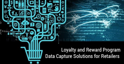 Loyalty and reward program data capture solutions for retailers