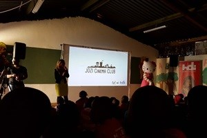 Jozi Cinema Club - bringing the cinema experience to township kids