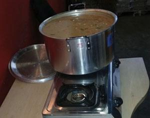 Soup kitchen feedback