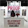 Visitors to the Bulletproof Marriage stand at the Wedding Expo benefit from relationship guidance