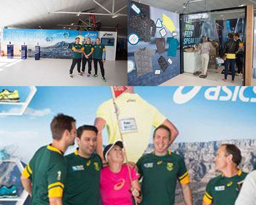 ASICS at Sanlam Cape Town Marathon 2015