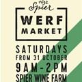 New farmers' market at Spier