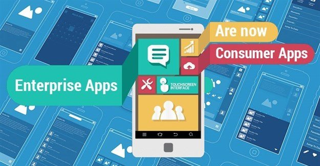 Enterprise apps are now consumer apps