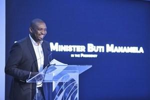Deputy Minister in The Presidency, Buti Manamela