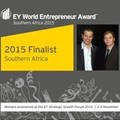 AfriGIS - proud finalist at 2015 EY World Entrepreneur Award