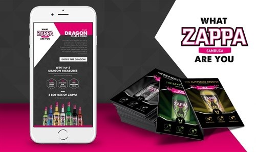 Mobile marketing magic with Zappa Dragons
