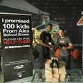 Zinto continues to rally support for #100ShoesforAlex from corporate sponsors and the community
