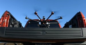 Ford teams up with drone maker for disaster relief concept