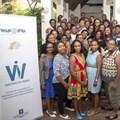 The Women in News editors and senior journalists from Botswana, Zambia, Zimbabwe, Kenya, Malawi and Tanzania. Rwandan Women in News journalists will join the programme soon.