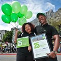 Cableway's 25 millionth visitor is all smiles