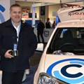 Adv Johan Jonck of Arrive Alive at the Ctrack stand during last year's annual TruckX Expo held at the Sandton Convention Centre.