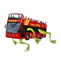 Red Bus goes hopping mad this leap year