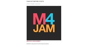 What's going on with M4JAM?