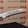 Turkish Airline model plane