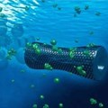 Microbots absorb pollutants from industrial wastewater