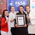 Members of the Roman's Pizza marketing team: Benitta van den Berg, Danielle Hattingh, Bonnie Cooper, Kerry De Klerk and Tara Efstratiou.