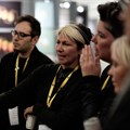 A scene from day one's D&AD judging