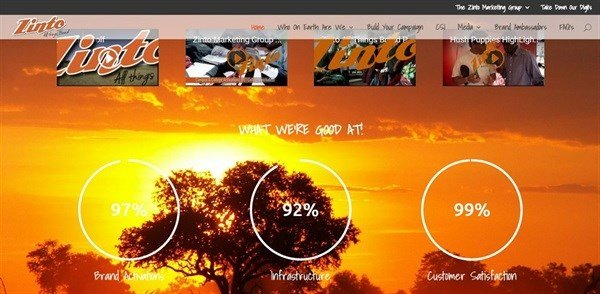 New look and feel for Zinto