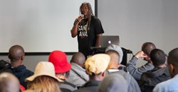 Jimmy Smith, who serves as chairman, CEO and CCO of Amusement Park Entertainment and was one of the 2015 One Show Diversity Bootcamp's international lecturers/mentors in South Africa.