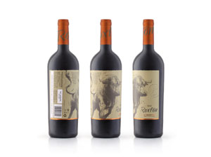 Roxton by Brampton wines takes the bull by the horns