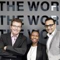 Left to right: Keith Shipley (BBDO executive chairman) with Boniswa Pezisa (group CEO) and Gau Narayanan (Net#work MD).