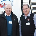 L-R Enrico Botha and Johan Liebenberg from John Williams Commercial Vehicles Dealership; Kobus van Zyl, executive director of Daimler and Trucks and Buses Southern Africa; Kenne de Kock, CEO: Kelrn Vervoer and Dirk Meyer, brand manager, Freightliner.