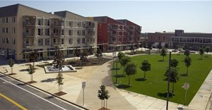 The University of California: Davis' West Village - the largest planned zero-net energy project in the United States.
