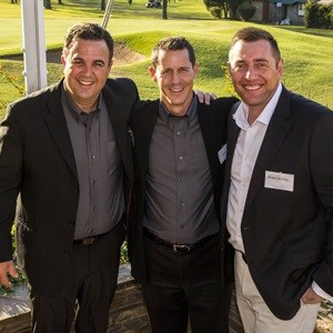 John Bayly, Simon Turck and Jacques du Preez at launch of Golf Ads
