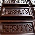 A Hershey's chocolate bar is shown in this photo illustration in Encinitas, California, US in January 2015. Picture: