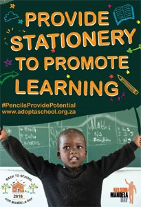 Pencil in education on Mandela Day - and improve the prospects of South Africa's learners