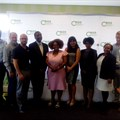 NAMA meets with CSOS: pictured at the meeting are (from left) Khwezi Ngwenya, Coenie Groenewald, Marco De Oliveira, Themba Mthetwa, Advocate Nomazotsho Memani, Marina Constas, Dinkie Dube, Ndivhuo Rabuli and Brad Cowie