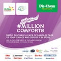 Million Comforts reaches 2.5 million