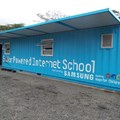 One of Samsung's solar power internet schools
