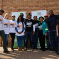 The City of Tshwane observes Mandela Day by serving the local community of Phomolong in Mamelodi
