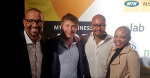 Team Domestly: MTN Business App of the Year winner.