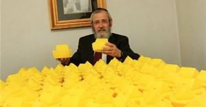 Rabbi David Masinter with ARKs