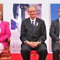 L-R: First Lady Margaret Kenyatta, Markus Gemuen and Andre Mendoza.