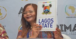 Director, Brand and Communications, AFRIMA, Matlou Tsotsesi, unveils Lagos State as the Host City for the 2016 All Africa Music Awards (AFRIMA 3.0)