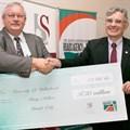 Kobus van der Walt, Regional Manager, SANRAL WR and Prof de Villiers, SU Rector and Vice-Chancellor