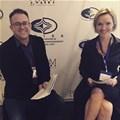 Gooding-Kobus with WE SA's GM, James Wilson